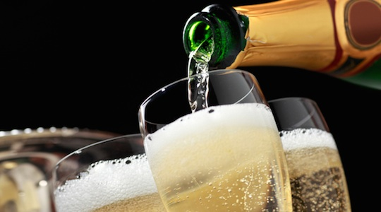 consommation champagne fetes
