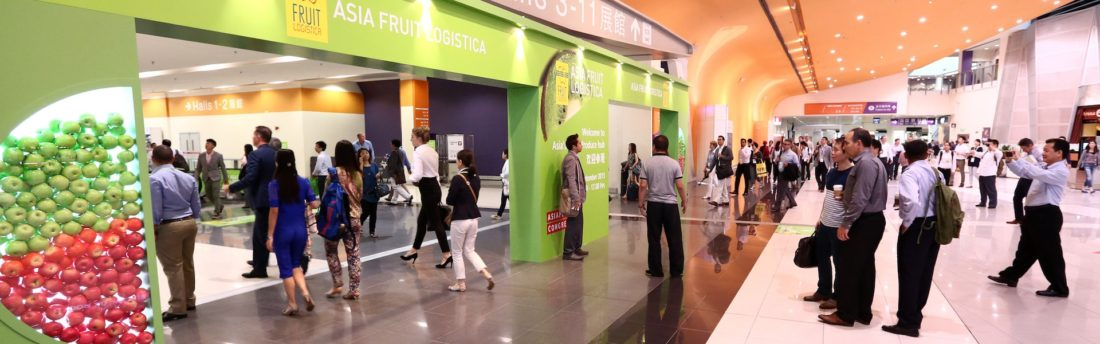 Le salon Asia Fruit Logistica se tiendra du 7 au 9 septembre 2016 à Hong Kong.